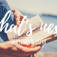 What's next - Settembre 2018